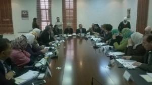 ورشة عمل حول مخرجات المؤتمر الوزاري الأورومتوسطي باريس 2013 بتعزيز دور المرأة في المجتمع في مقر محافظة جرش
