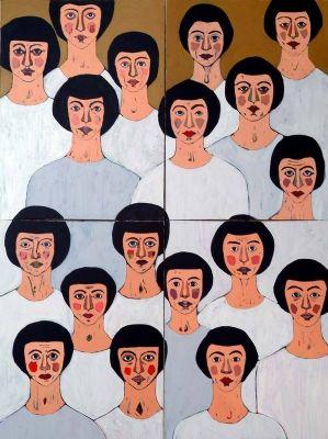 لوحة للفنانة غادة القندري - الكويت