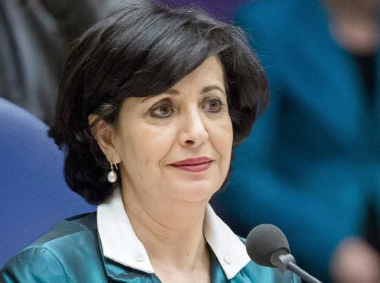 انتخاب الهولندية من أصل مغربي خديجة عريب لرئاسة البرلمان الهولندي