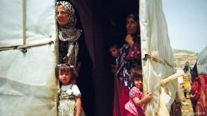 لاجئات سوريات في لبنان