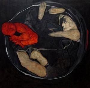 لوحة تشكيلية لـ عمران يونس\ سوريا