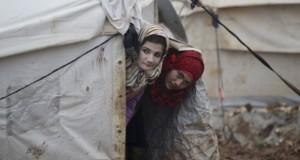 لاجئات سوريات