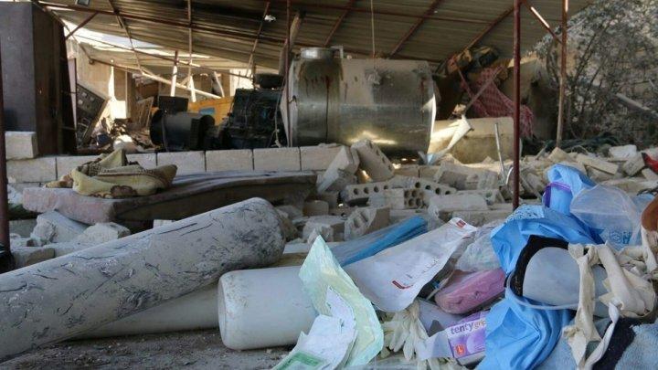 مشفى في سوريا تدعمه منظمة أطباء بلا حدود يتعرض للقصف
