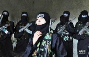 نساء مقاتلات في تنظيم الدولة الإسلامية