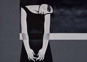 لوحة تشكيلية للفنان السوري صفوان داحول