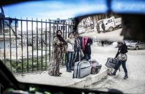المرأة السورية وحالتا النزوح واللجوء (جريدة القدس العربي 2015)