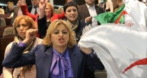 المراة في البرلمان الجزائري