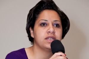 الناشطة النسوية المصرية مزن حسن