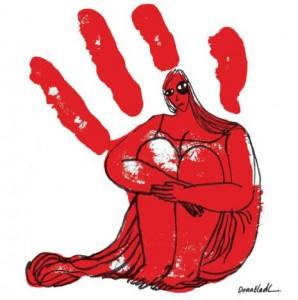 لوحة للفنانة دعاء العدل\ مصر