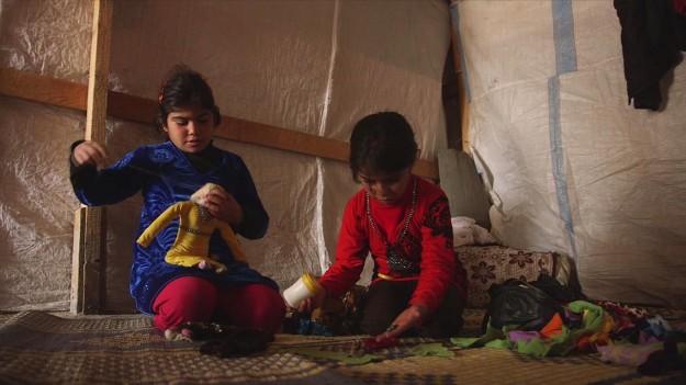 الطفلتان شمسة وزهى / UN