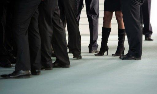 تعيين النساء في مناصب إدارية/ أ ف ب