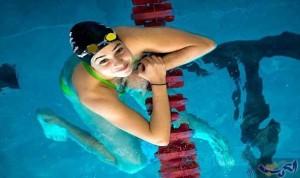 السباحة السورية يسرا مارديني