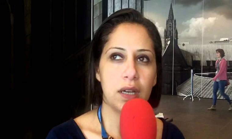 الناشطة النسوية مزن حسن