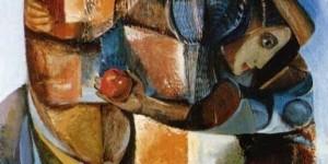 """اللوحة للفنان """"غسان السباعي"""""""