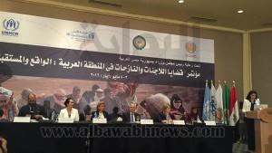 افتتتاح المؤتمر في القاهرة يوم 3 أيار
