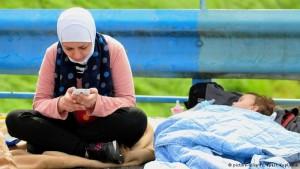 مهاجرة سورية/dpa
