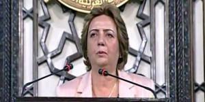 هدية عباس - رئيسة مجلس الشعب السوري/سانا