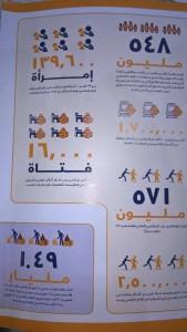 صورة من الدراسة المنشورة عن التحرش في مصر