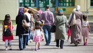 عائلات سورية لاجئة في ألمانيا