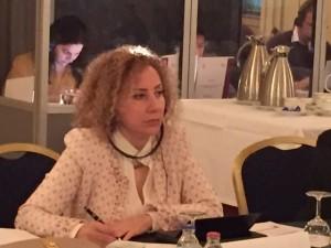 لمى قنوت – عضوة لجنة التنسيق في تجمع سوريات من أجل الديمقراطية (CSWD)، منسقة لجنة الدراسات في اللوبي النسوي السوري