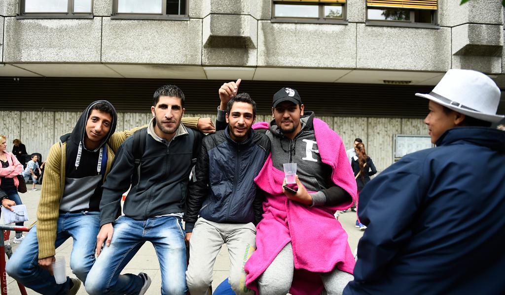 لاجئون سوريون في ألمانيا/رصيف22