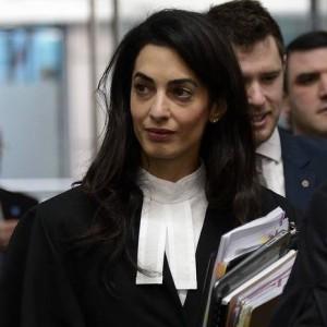 المحامية والناشطة الحقوقية أمل علم الدين/كلوني