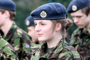 المرأة في الجيش البريطاني