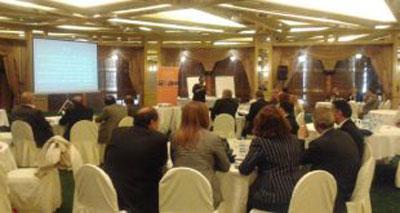 ورشة العمل الوطنية التي نظمتها الهيئة السورية لشؤون الأسرة بالتعاون مع صندوق الأمم المتحدة للسكان في دمشق