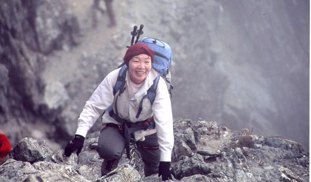 اليابانية جونكو تابي أول امرأة تصل لقمة إيفرست في عام 1975