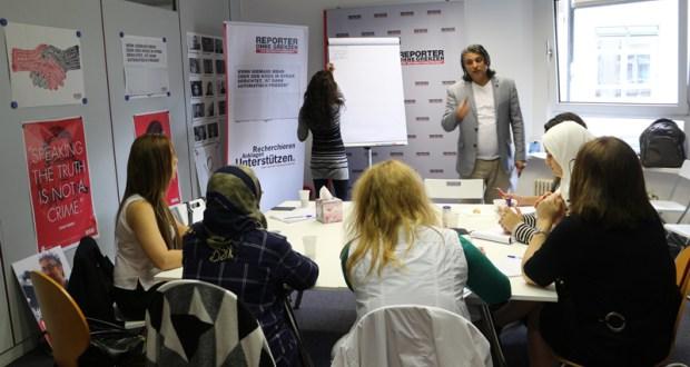 تدريب نساء وتزويدهن بالأدوات اللازمة ليروين حكاياتهن