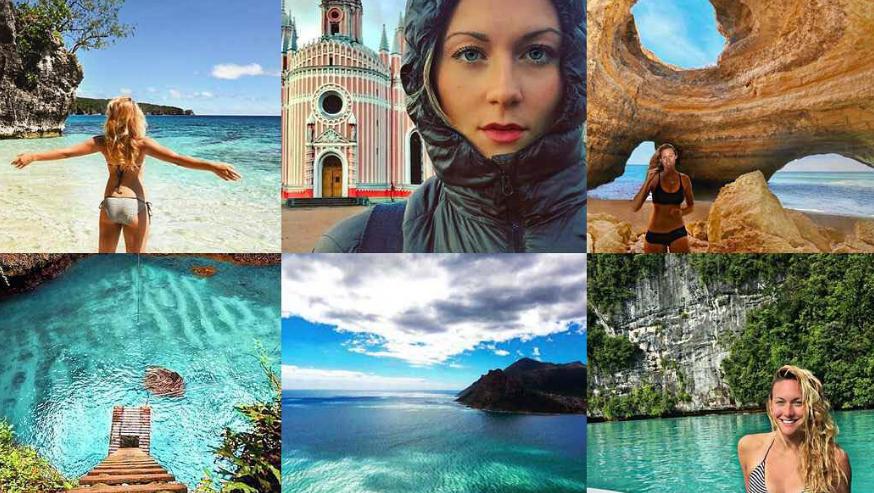 كاساندرا دي بيكول أول امرأة تزور جميع بلدان العالم