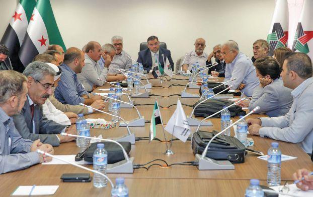 """اجتماع لـ """"الائتلاف السوري"""" المعارض"""