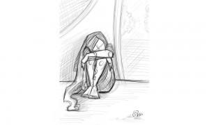 اللوحة للفنانة ديمة النشاوي