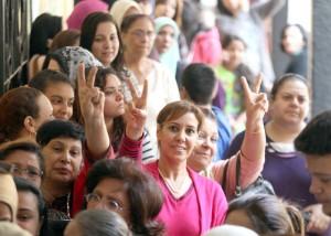 نساء مصريات في أحد النشاطات النسوية-السيدة
