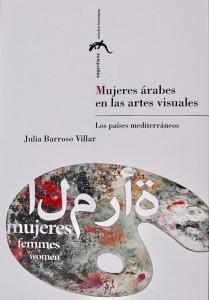 """غلاف كتاب """"المرأة العربية في الفنون المرئية"""" بالاسبانية"""