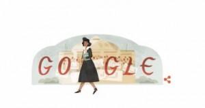 جوجل تحتفل بالذكرى الـ 108 لميلاد درية شفيق