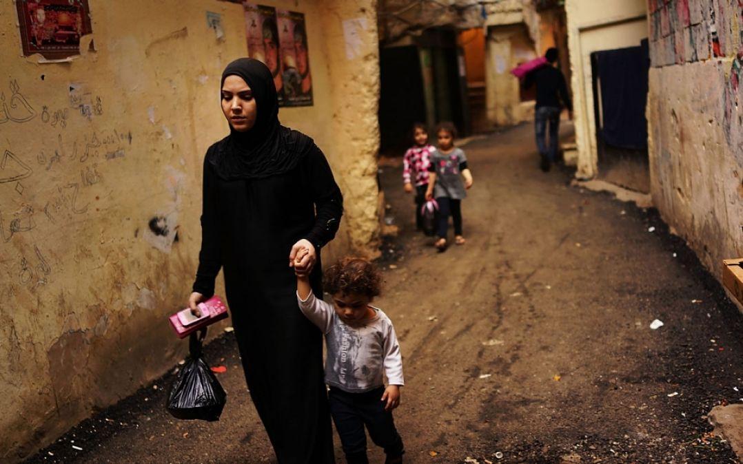 Syrian Women Refugees