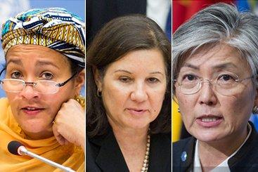 الأمين العام يعين 3 سيدات بمناصب عليا في الأمم المتحدة