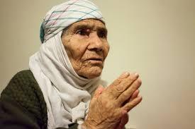الجدة السورية عايدة كرمي