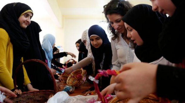 من فعاليات النساء السوريات في الأردن/ أرشيف