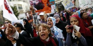 تظاهرة نسائية عربية/أرشيف