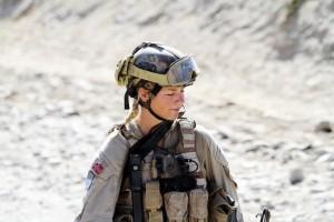 مجندة في الجيش النرويجي