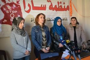 نورا خليل/ منظمة سارا/خلال المؤتمر الصحفي