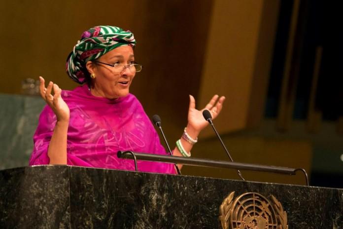 النيجيرية أمينة محمد فلاتة،نائباً للأمين العام الجديد للأمم المتحدة