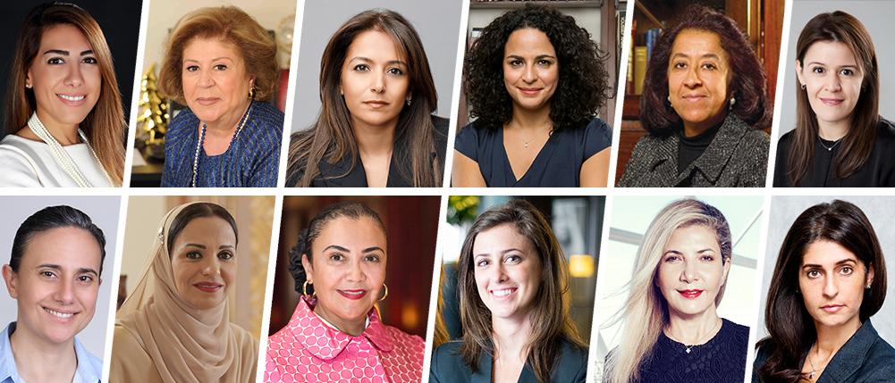 """قائمة """"فوربس الشرق الأوسط"""" أقوى السيدات العربيات في عام 2016"""