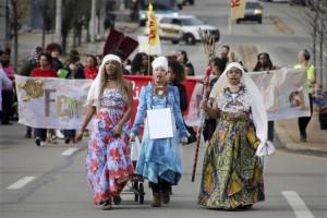 صورة 2 من مسيرة النساء