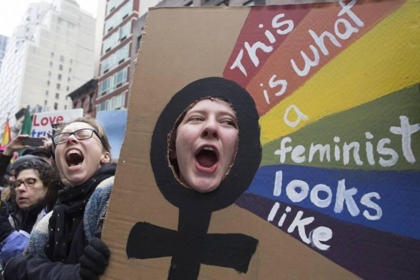 صورة 1 من مسيرة النساء