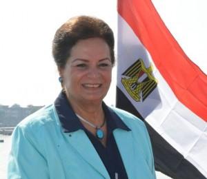 نادية عبده /محافظ البحيرة