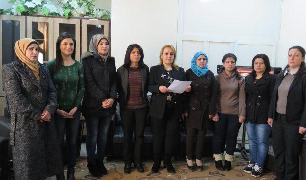 أصدرت مجموعة من النساء السوريات المستقلات بياناً