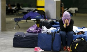 لاجئة سورية في أوروبا/ أرشيف